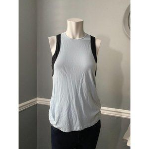 A.L.C Blue Tank-top with Black sides Size Small